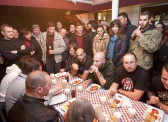 Split, 18.12.2015 - Natjecanje u jedenju ljutih paprika